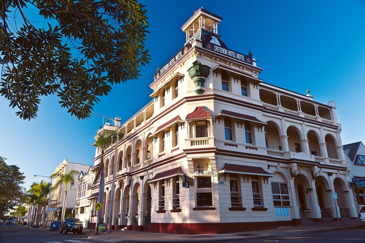 Rockhampton's Criterion Hotel has been a landmark on the banks of the Fitzroy River since 1890.