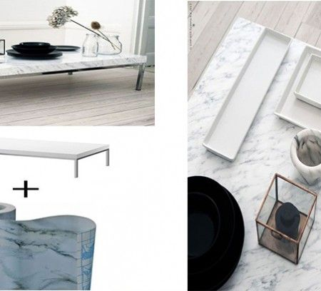 D tourner et customiser ses meubles ikea est devenu tr s tendance lampe com - Customiser table basse ikea ...
