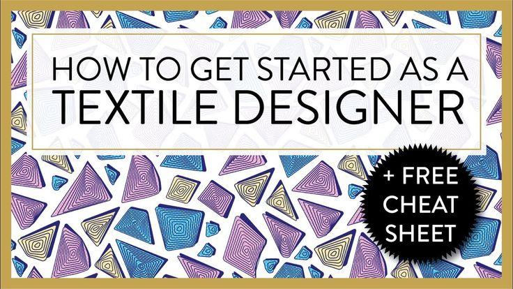 TEXTILE DESIGNER :P HOW TO GET STARTED AS A TEXTILE DESIGNER