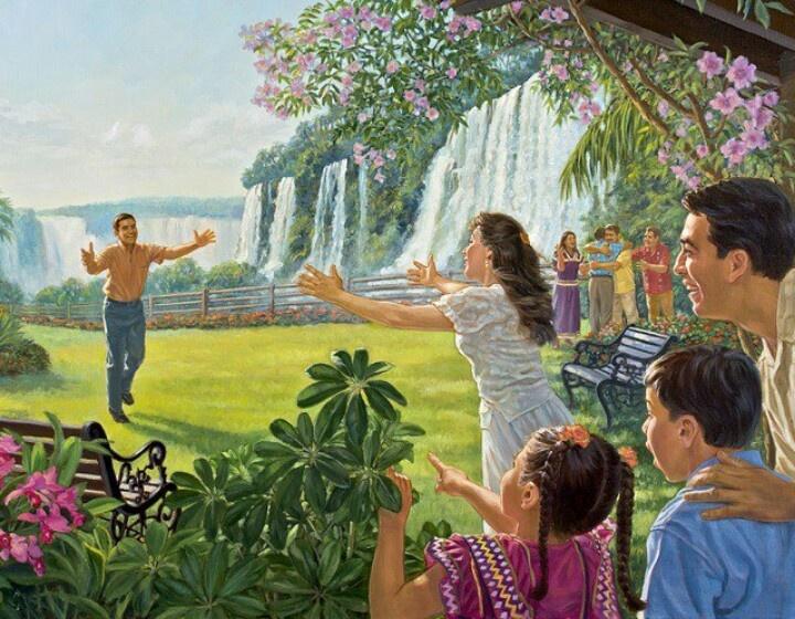 с иеговой хорошо картинки светлый чудный мир