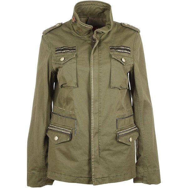 History Repeats Blazers ($535) ❤ liked on Polyvore featuring outerwear, jackets, blazers, military green, army green blazer, long sleeve jacket, olive green jacket, olive green blazer and olive jacket