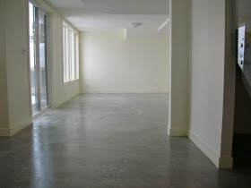 MODE CONCRETE: Basement Concrete Floors Naturally Look Amazing and Modern - Simple Process with Concrete Sealers and Wax