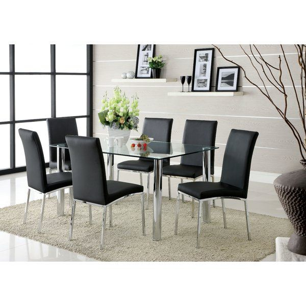 Anchor The Dining Room In Effortless Style With This Essential Table Perfect For Weekday Meals And Family Gatherings Alikebr Modern Art On Display