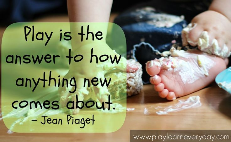 Cognitive: Jean Piaget was a great psychologist that studied cognitive development and says play is the most important thing for a baby