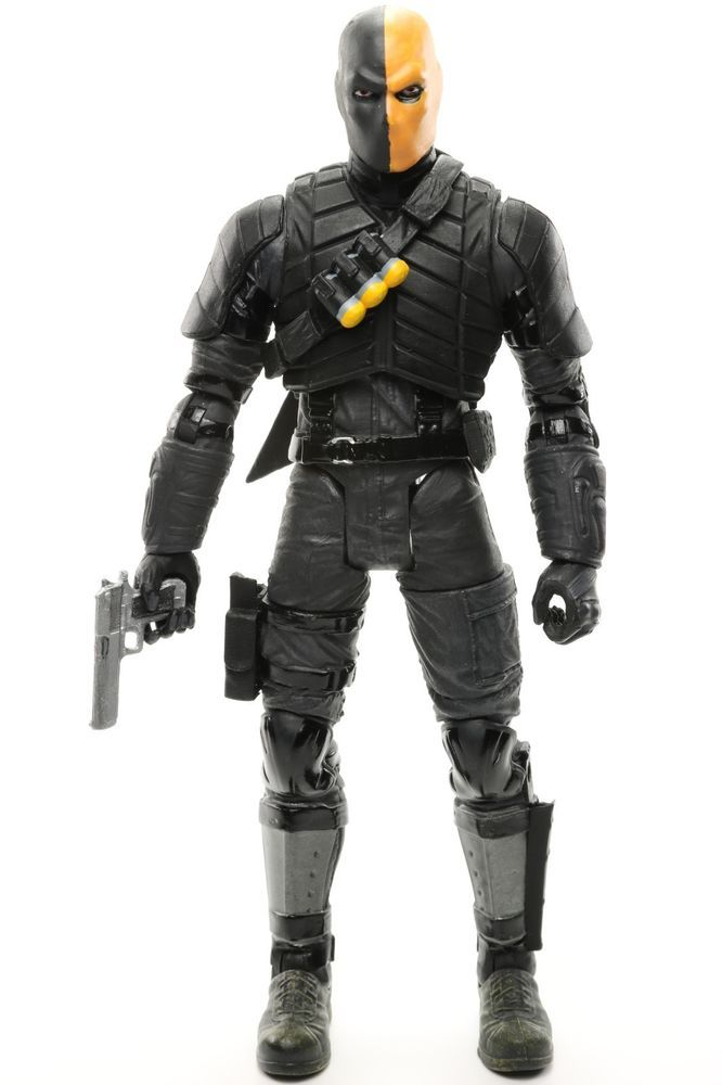 """DC Collectibles Arrow TV Show DEATHSTROKE 6.75"""" Action Figure from 2-pack 2014 #DCCollectibles"""