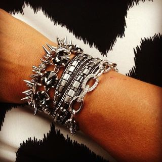 Crystal & Bead Bracelet, Silver & Gold | Cady Wrap Bracelet | Stella & Dot www.stelladot.com/shaunapolito
