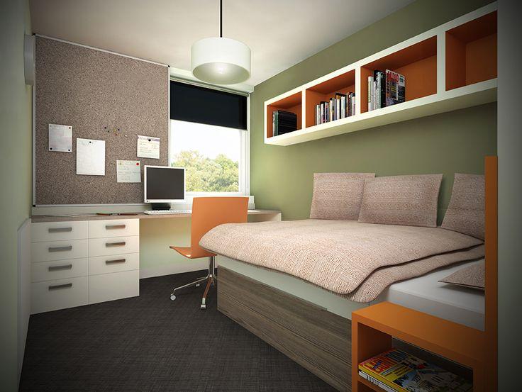 3D Photorealistic Interior CGI Student Accomodation