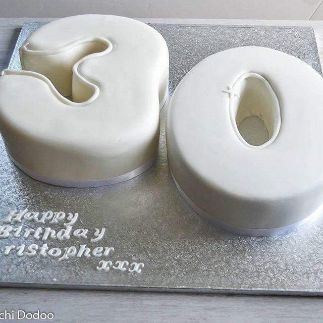 The Big 3 0 Cake Numbercake Cakedecorating Share Photography