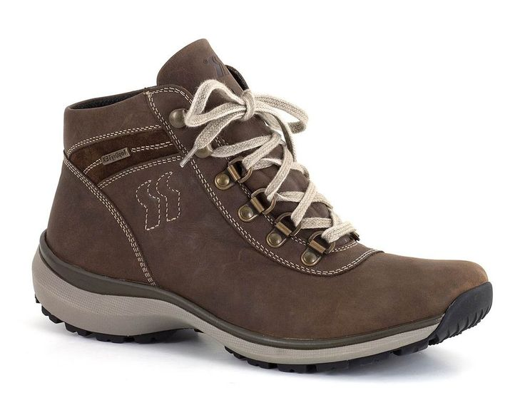 Thank goodness for weatherproof boots. The last thing you want is trudge around the rest of the day with wet feet.