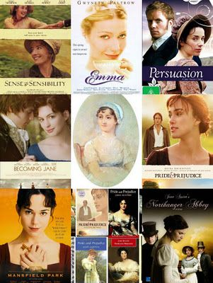 I love any of the Jane Austen novels put to film, or any other adaptation.