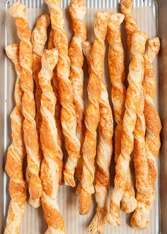 How To Make Puff Pastry Cheese Straws