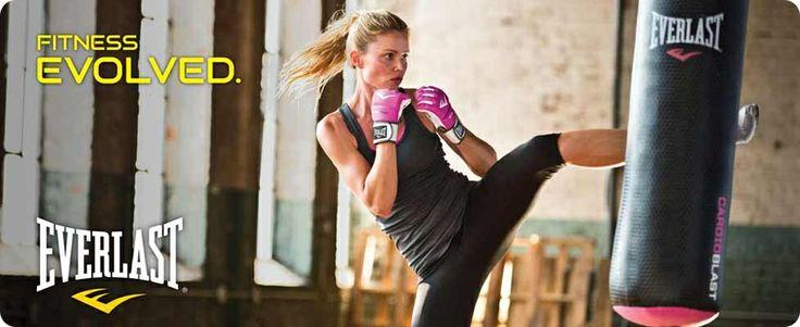 Everlast Boxing Equipment Australia Women Boxing Woman kickboxing Everlast Ladies Boxing gear fitness equipment