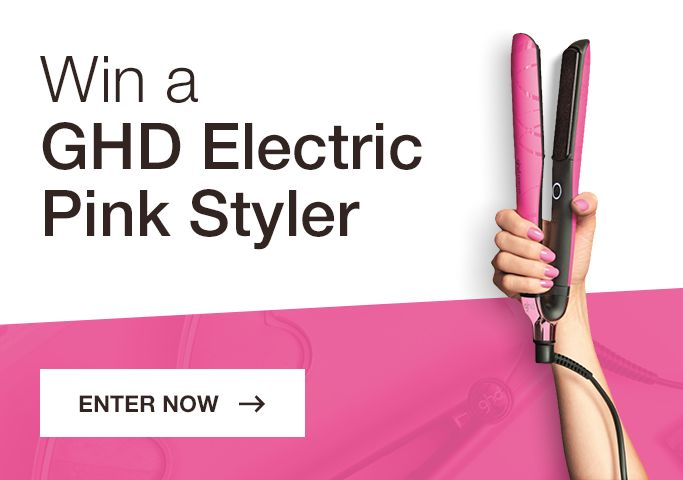 Hey there, I just entered to Win a GHD Electric Pink Styler! Enter now for your chance!