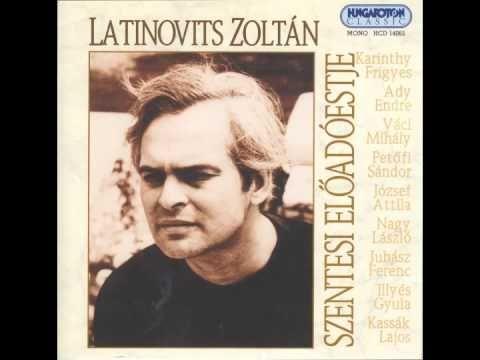 Latinovits Zoltán - A Dunánál - YouTube