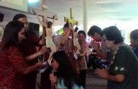 Rangkaian Ibadah Paskah di Katedral Berlangsung Khidmat