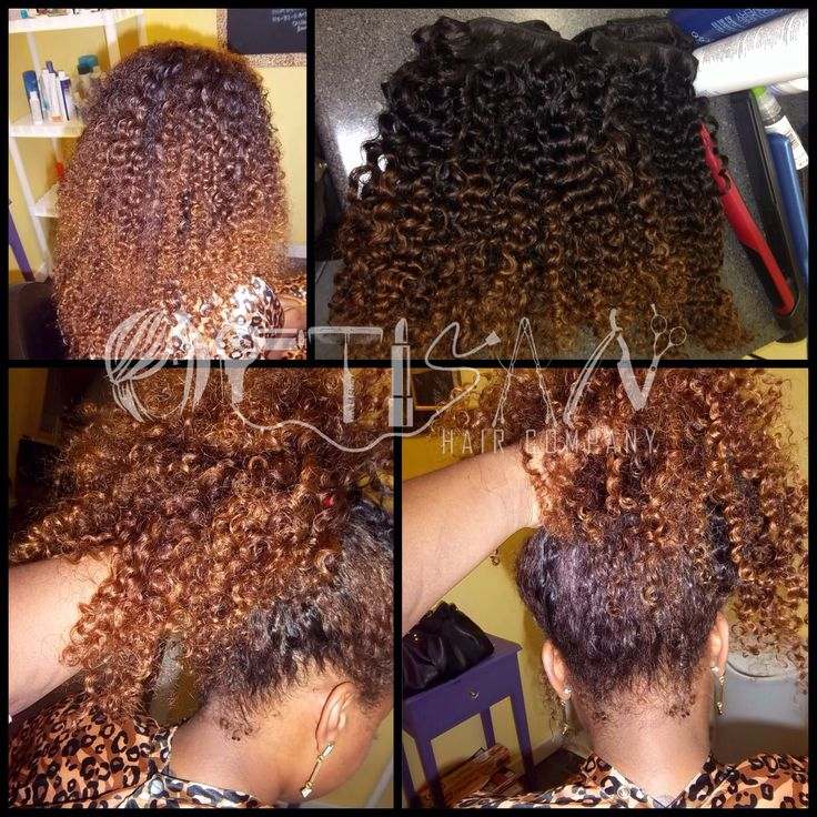 Versatile Curly Sew In on Picterest  Natural Hair  Curly sew in Natural hair styles Weave curls