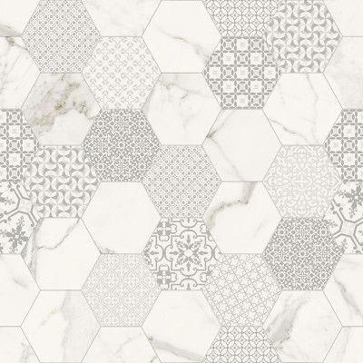 """Hexagon 120x120cm 48""""x48"""" matte </br> by fondovalle (patiris)"""