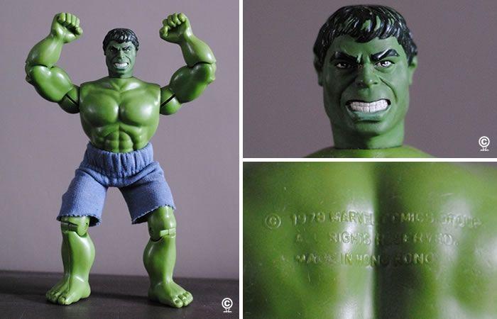 HULK action figure - Marvel Comics Group - 1979