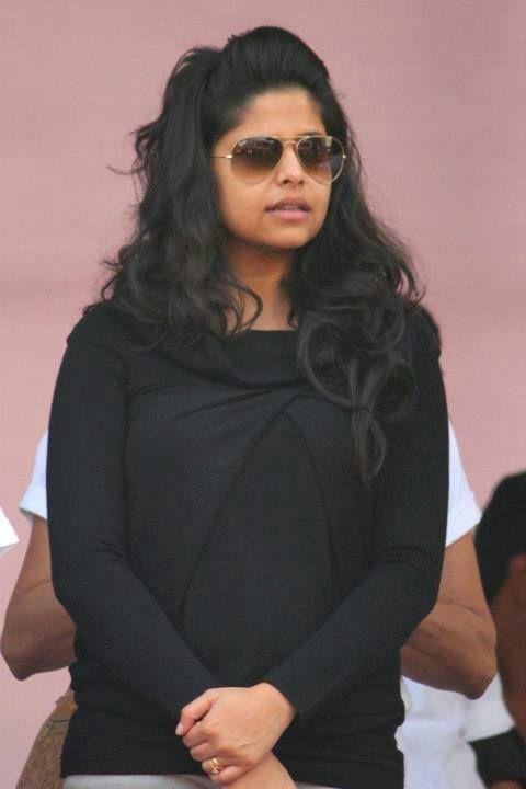Sai Tamhankar in Black