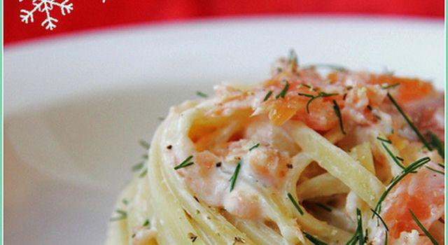 Ikea inspiration, ovvero: linguine al salmone, crème fraiche al limone e aneto