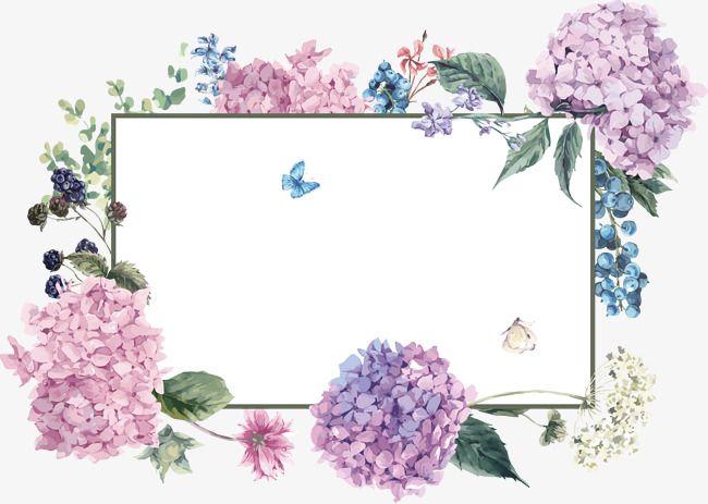 Flower Frame Spring Background Spring Frame Png Transparent Clipart Image And Psd File For Free Download Flower Frame Spring Background Flower Backgrounds