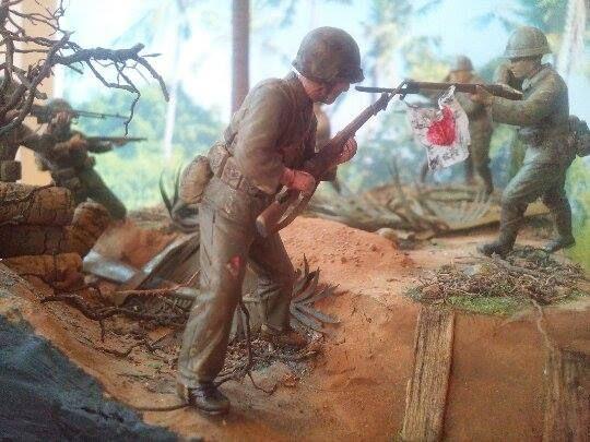Marines! USMC vs. SNLF. Tarawa Test Shot 06