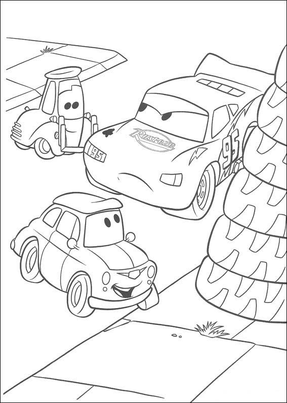Cars Ausmalbilder 53