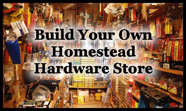 Being prepared and keeping supplies around the homestead is a necessity in my opinion. That's why I think building your very own… | Small Town Homestead