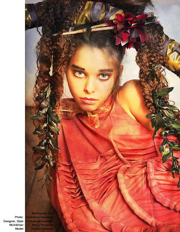 Photographer - Anastasia Serdukova  MUAH - Misha Romanoff  Designer and stylist - Anastasia Kurbatova