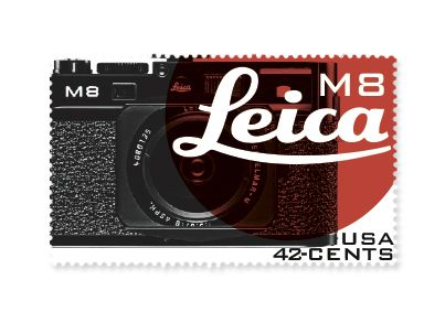 Leica Stamps on Behance