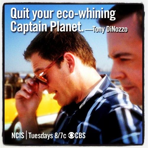 NCIS, Captain Planet & Tony