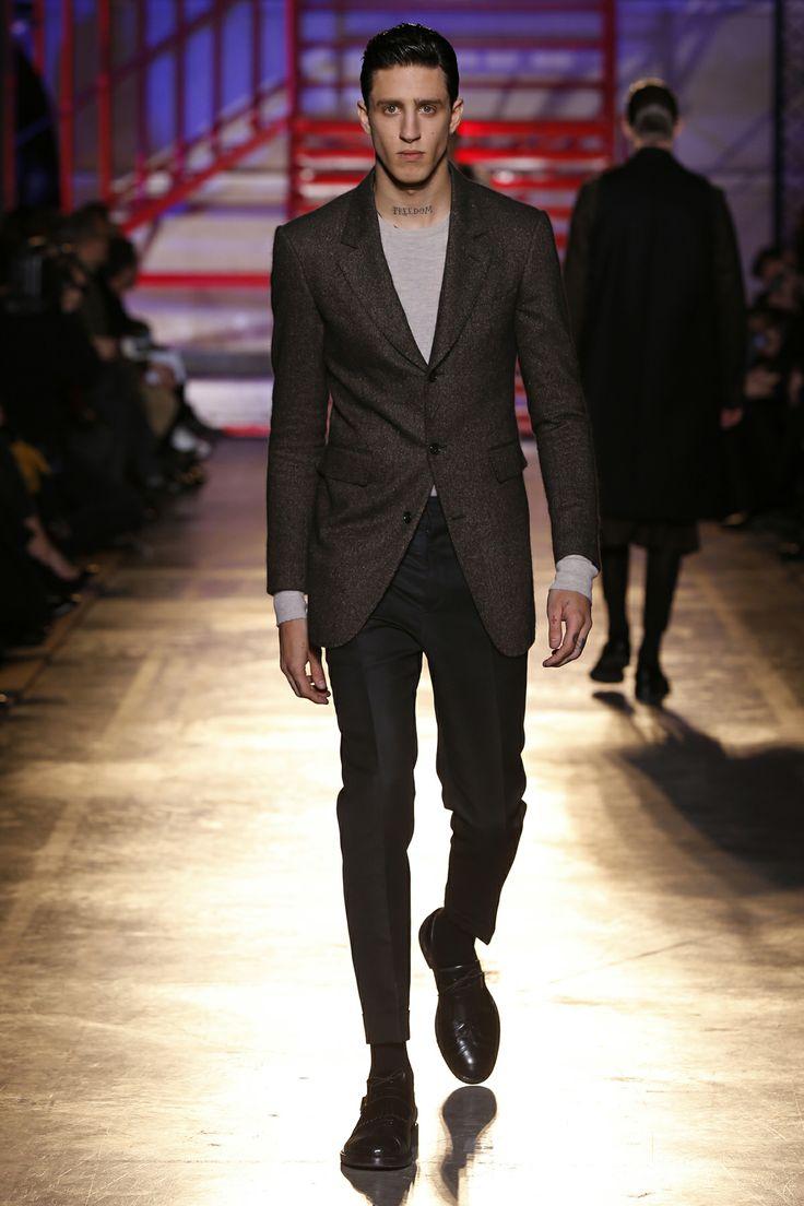 CERRUTI 1881 PARIS FW 14-15 Men's Fashion Show - Look 4