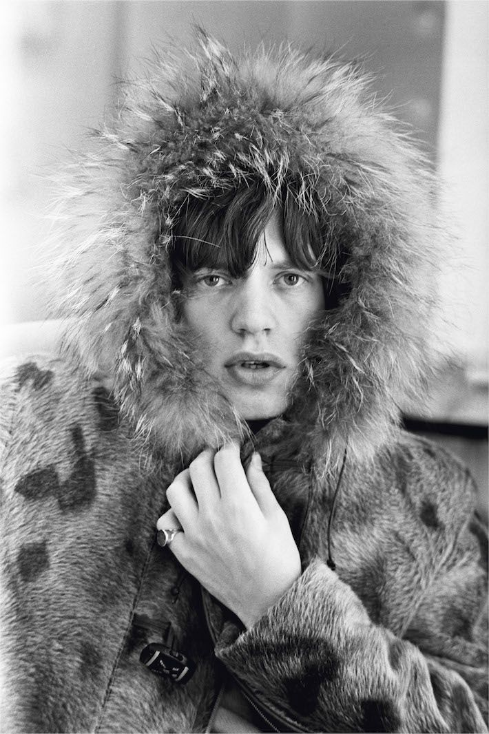 Mick Jagger in Fur Parker, 1964 Version TWO