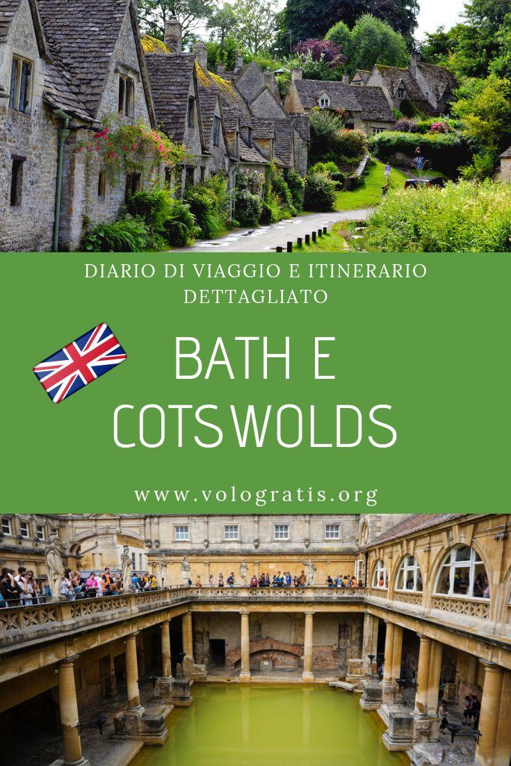 Bath e Cotswolds: diario di viaggio