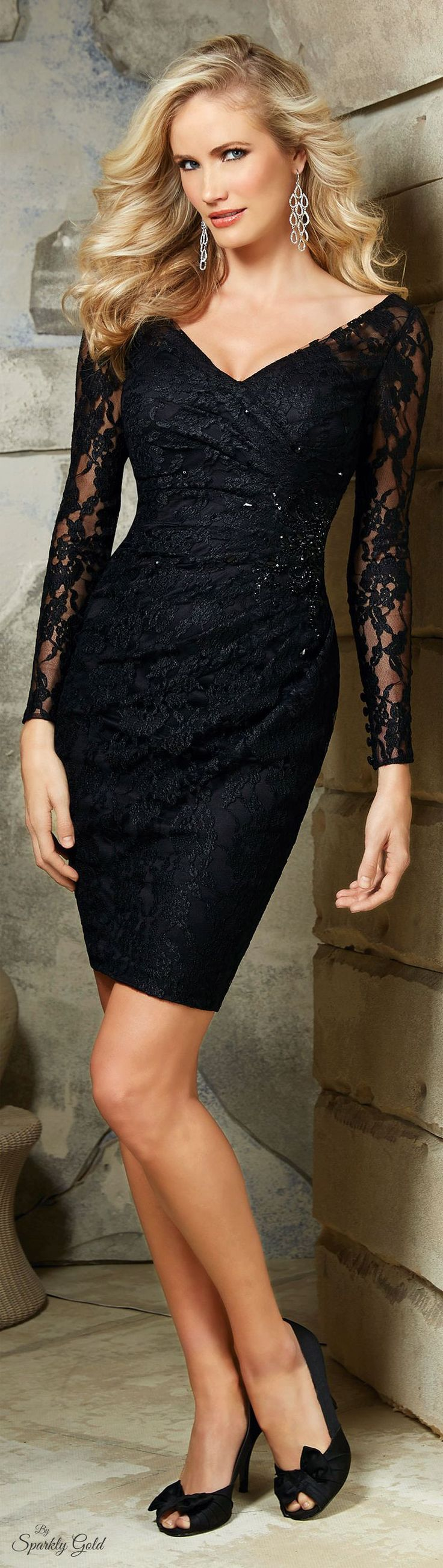 Mori Lee - VM women fashion outfit clothing style apparel @roressclothes closet ideas