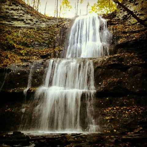 Bruce Trail waterfall - Hamilton, Ontario