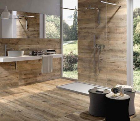 Meer dan 1000 idee n over hout keramische tegels op pinterest kelder badkamer houten tegels - Badkamer muur tegel ...
