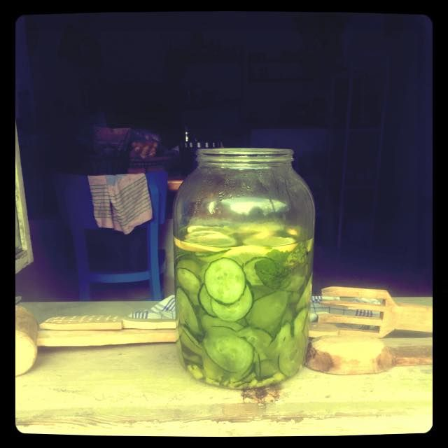 Cucumber lemonade... process... #siluetyogawear #madewithloveforyou