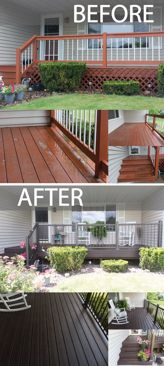Check out this amazing deck transformation! The final