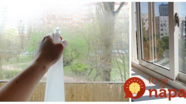 Ešte nikdy som nemala takto rýchlo a dokonale umyté okná: Tento zlepšovák mi poradila kamarátka a odporúčam ho každému, uľahčí vám to život!