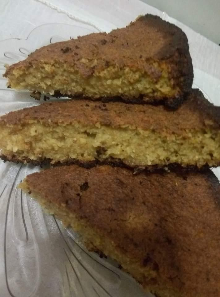 Κέικ πορτοκαλιού με βρώμη (1 μονάδα) – Diaitamonadwn.gr