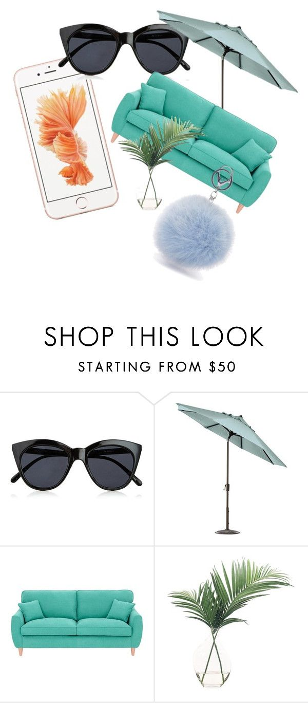 Unbenannt #71 by ahfac on Polyvore featuring Mode, Le Specs, Fearne Cotton, NDI and Home Decorators Collection