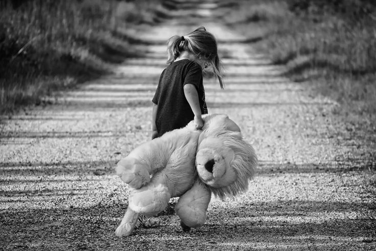 girl and her teddy, work with stubborn children