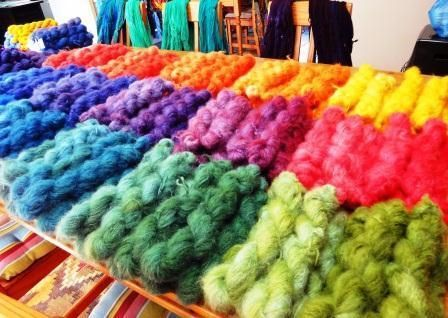 Dyeing Animal Fibre Yarn