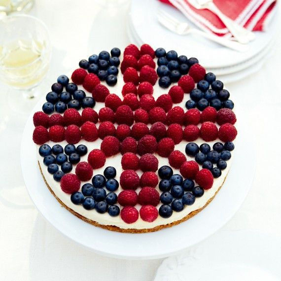A very British cheesecake recipe - http://www.womanandhome.com/recipes/531169/a-very-british-cheesecake#