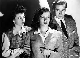 Ruth Hussey, Gail Russell, Ray Milland-- The Uninvited 1944