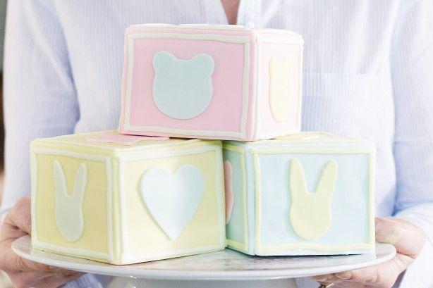 Building block cakes
