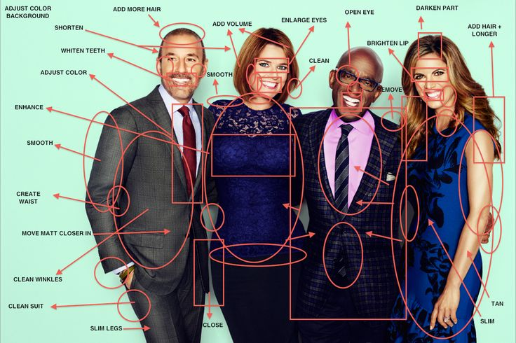 ha.. a little to true...today show anchors photoshop