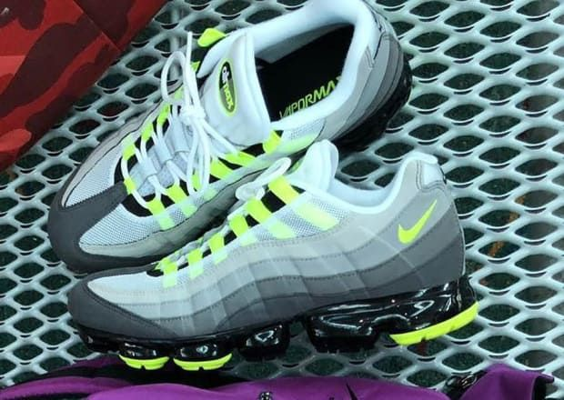 The Nike Air Max 95 Neon Gets A Vapormax Update Nike Air Max