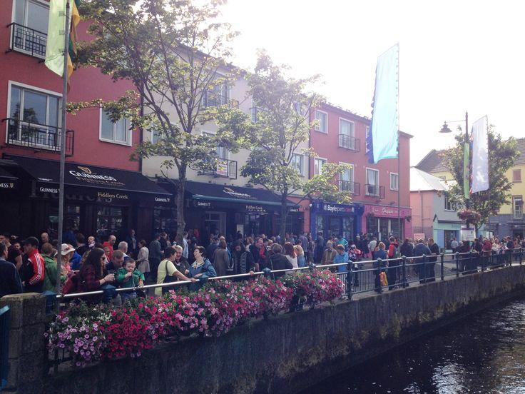 La ville de Sligo noire de monde - Fleadh Cheoil 2015